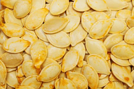 Free Stock Photo of Pumpkin seeds
