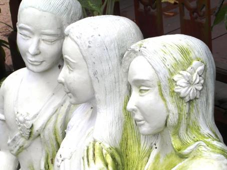 Free Stock Photo of Oriental Statue of Women