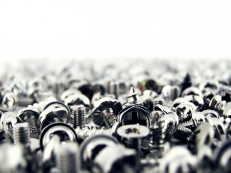 Free Stock Photo of Screws background
