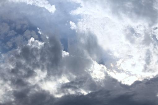 Free Stock Photo of sky and clouds