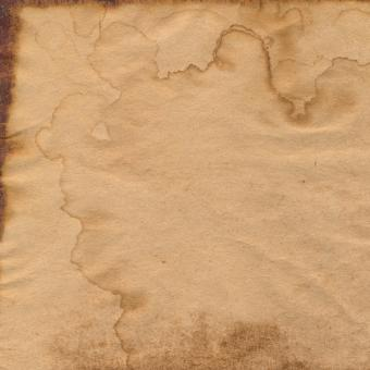 Free Stock Photo of Coffee Stained Paper Texture