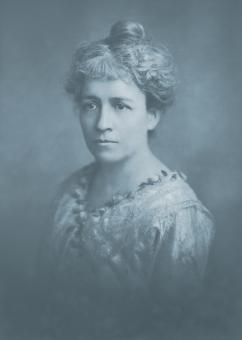 Free Stock Photo of Vintage Cyanotype Portrait - Circa 1918