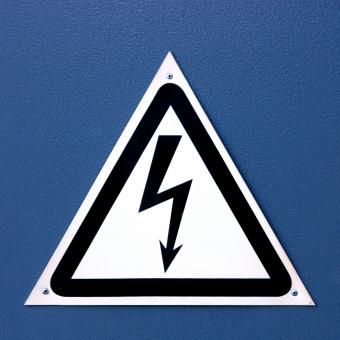 Free Stock Photo of High Voltage Sign