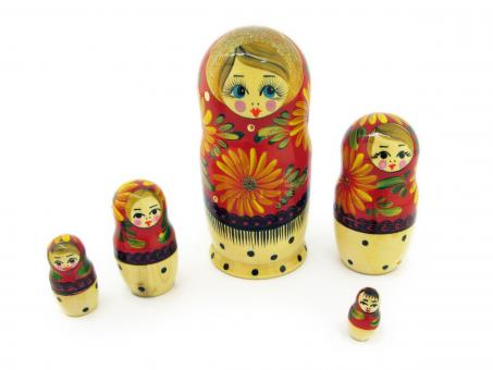 Free Stock Photo of Matryoshka