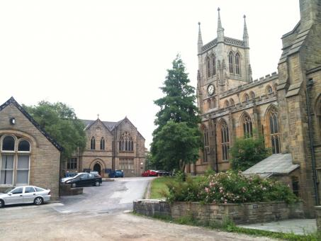 Free Stock Photo of Blackburn Cathedral South Side