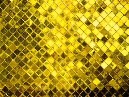 Free Stock Photo of Gold Diamond Repeating Pattern