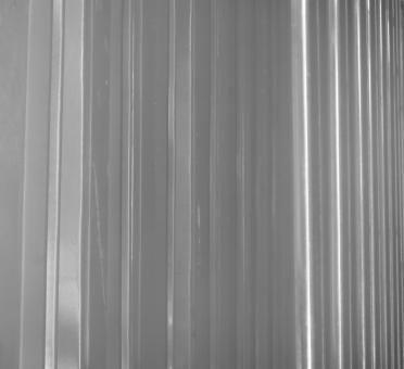 Free Stock Photo of Horizontal Metal Panels Background