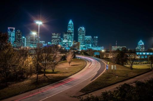 Free Stock Photo of Charlotte City
