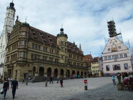 Free Stock Photo of Rothenburg Marktplatz