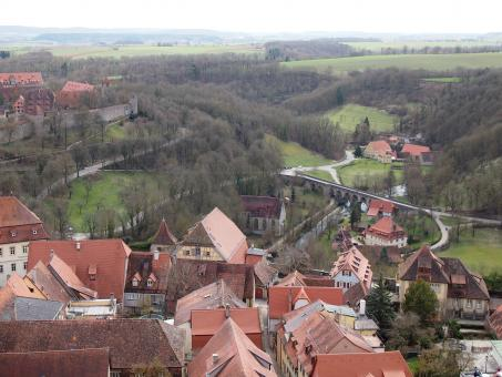 Free Stock Photo of Rothenburg Landscape