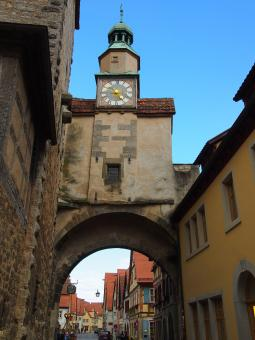 Free Stock Photo of Rothenburg Church Tower