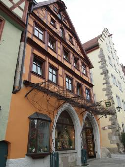 Free Stock Photo of Rothenburg Store Front