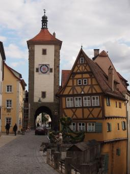 Free Stock Photo of Rothenburg Tower