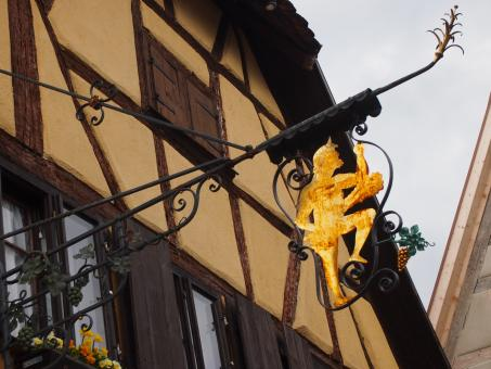 Free Stock Photo of Rothenburg Shop Sign
