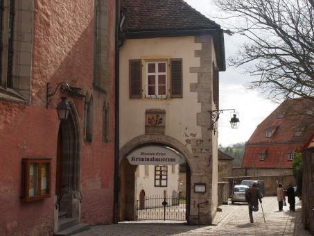 Free Stock Photo of Rothenburg Criminal Museum