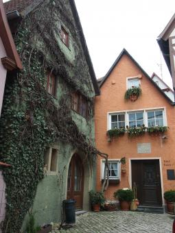 Free Stock Photo of Rothenburg Homes