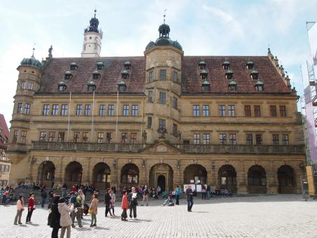 Free Stock Photo of Rothenburg City Hall