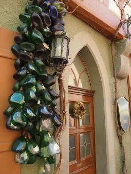 Free Stock Photo of Rothenburg Door Ornament