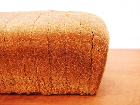 Free Stock Photo of Cut Bread