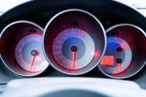 Free Stock Photo of Speedometer