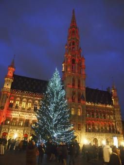 Free Stock Photo of Grand Place in Brussels