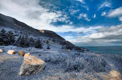 Free Stock Photo of Cabot Trail Coastal Scenery - HDR