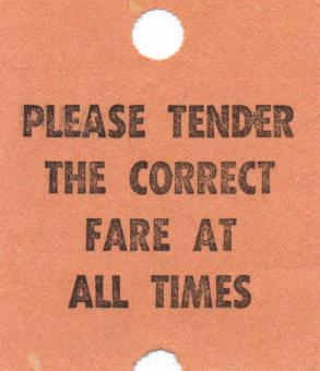 Free Stock Photo of Vintage Fare Ticket - Beige