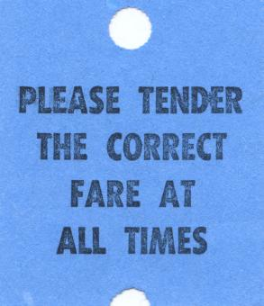 Free Stock Photo of Vintage Fare Ticket - Blue