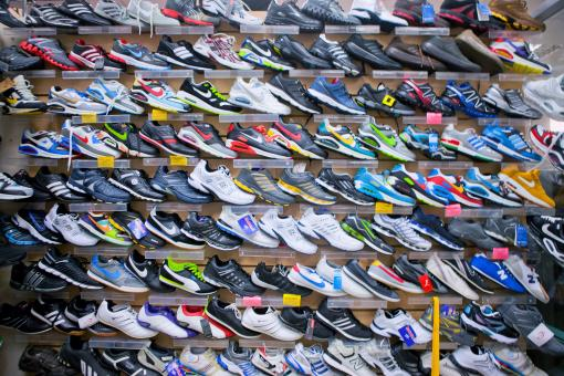 Free Stock Photo of Shoes on sale