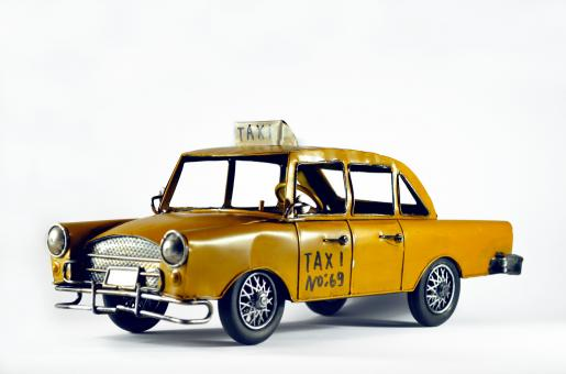 Free Stock Photo of Taxi car