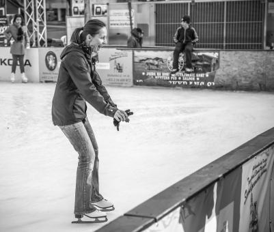 Free Stock Photo of Skating or keeping balance