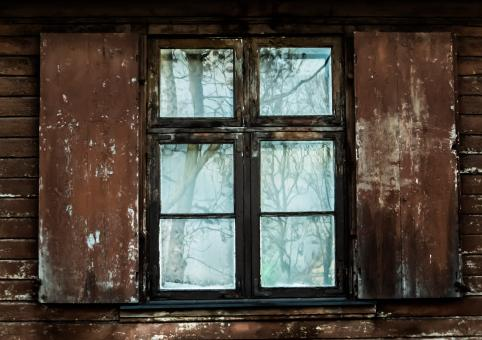 Free Stock Photo of An old window
