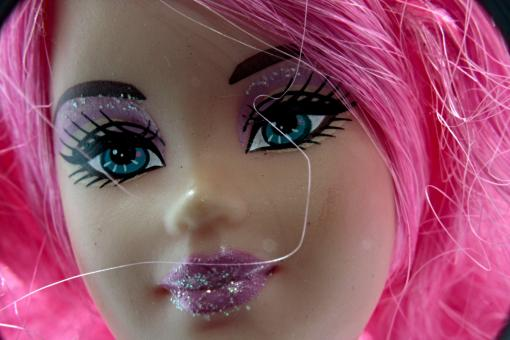 Free Stock Photo of Doll close up
