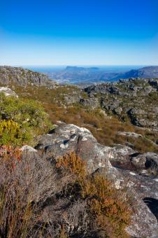 Free Stock Photo of Table Mountain Scenery - HDR