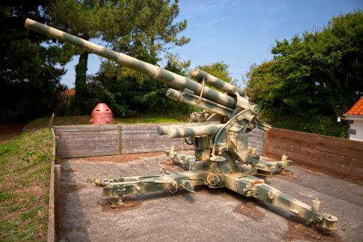 Free Stock Photo of 88mm flak 36 - HDR