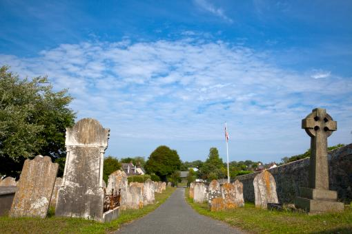 Free Stock Photo of Guernsey Cemetery - HDR