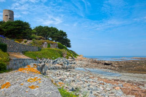 Free Stock Photo of Guernsey Scenery - HDR