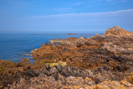 Free Stock Photo of Guernsey Cliffs - HDR