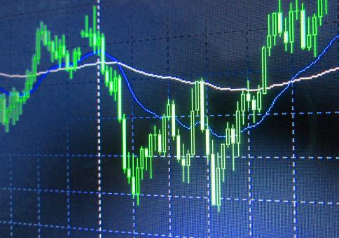 Free Stock Photo of Stock Market Chart