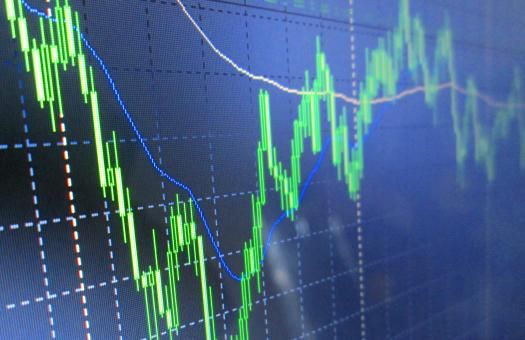 Free Stock Photo of Stock Exchange Graph