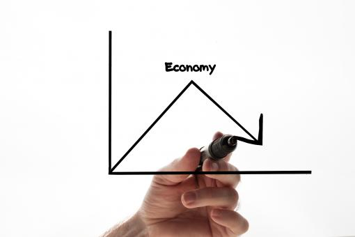 Free Stock Photo of Economy graph