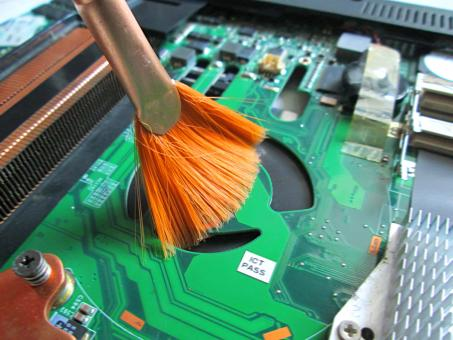 Free Stock Photo of Circuit or Cleaning computer