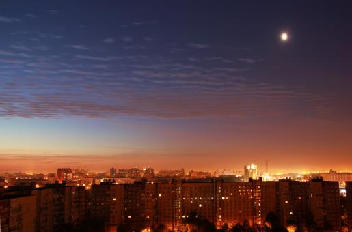 Free Stock Photo of Night Saint-Petersburg