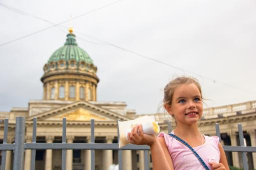 Free Stock Photo of Girl in Petersburg