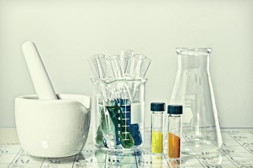 Free Stock Photo of Chemistry Glassware