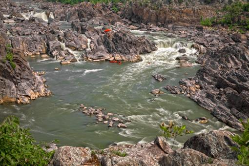 Free Stock Photo of Great Falls - HDR