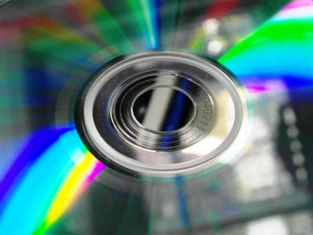 Free Stock Photo of CD Close-up
