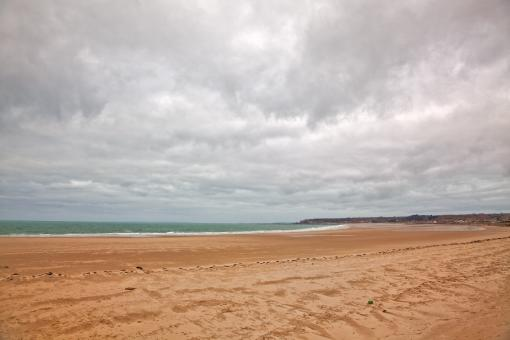 Free Stock Photo of Jersey Beach Scenery - HDR