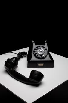 Free Stock Photo of Old Telephone