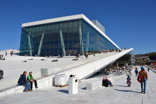 Free Stock Photo of Oslo Opera House